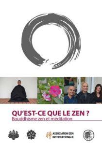 Brochure Qu'est-ce que le zen réalisée par l AZI