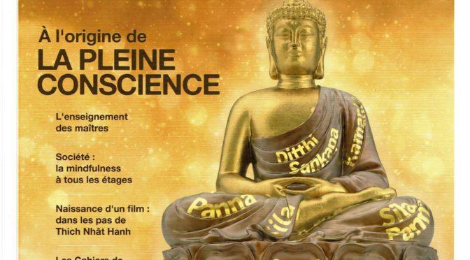 Aux origines de la Mindfulness – pleine conscience : Sagesses bouddhistes magazine n°6 (printemps 2018)