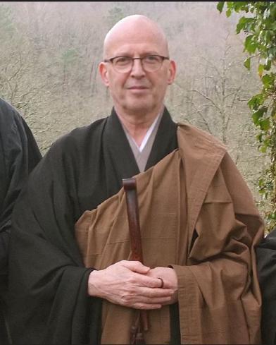 Taiun JP Faure, référent du centre zen du Brabant Wallon