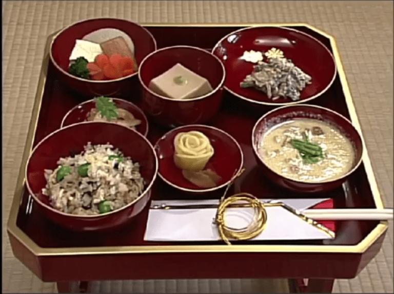 L'esprit de la pratique zen de cuisiner et de recevoir la nourriture